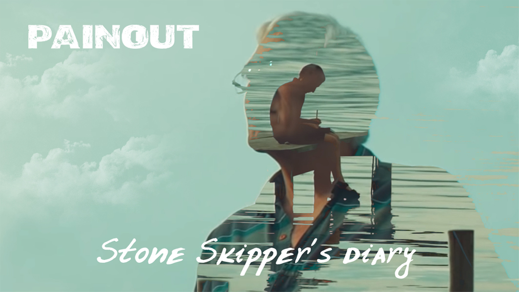"Watch our first official video ""Stone Skipper's Diary"""